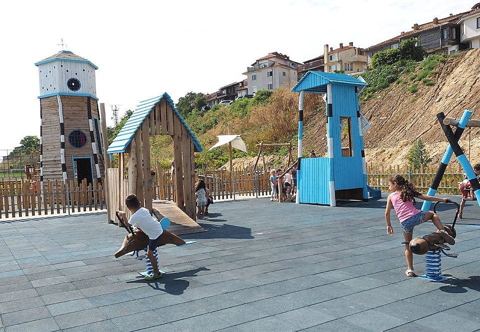 Playground in old Nessebar