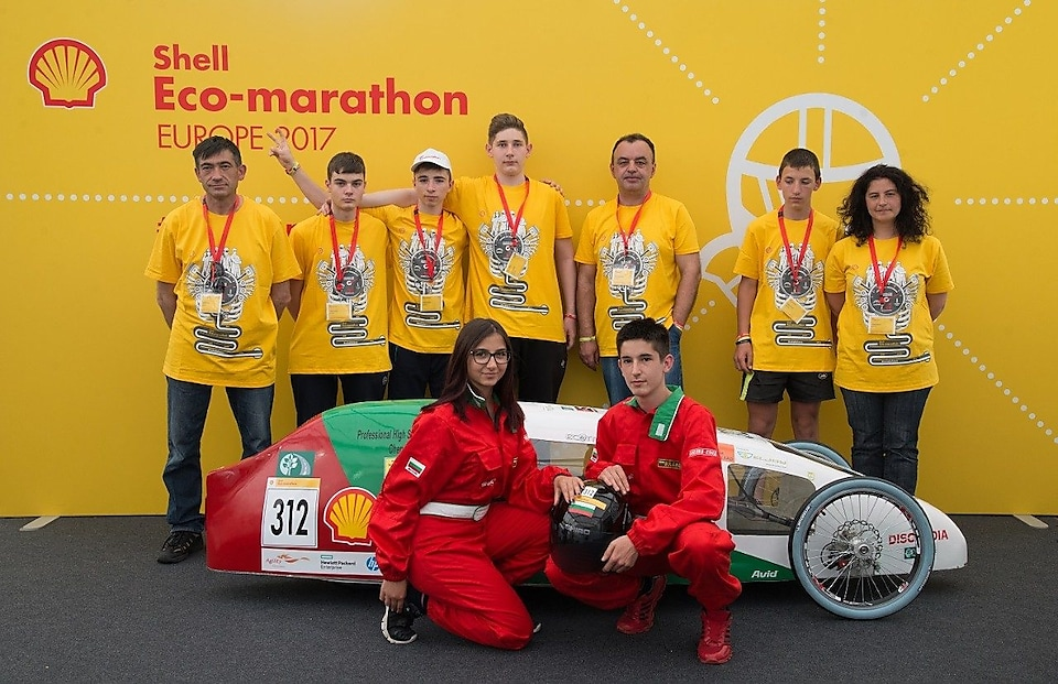 Shell Eco-Marathon team