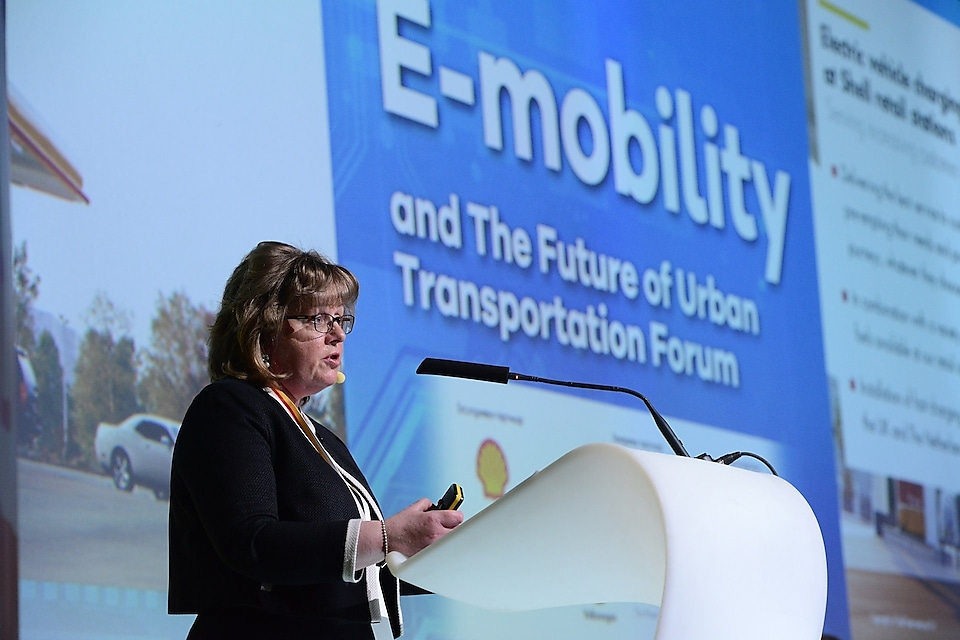 Mrs Angie Boakes, General Manager Electric Mobility, New Energies Royal Dutch Shell