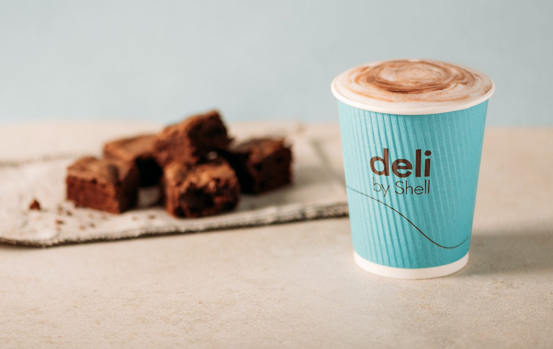 Deli to shell coffee