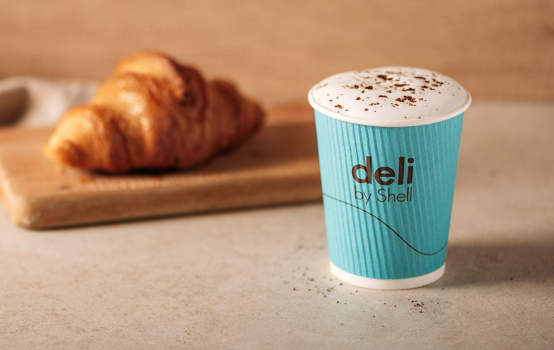 Deli by shell coffee